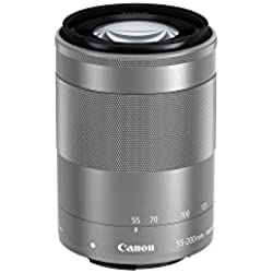 Canon 55-200 mm/F 4.5-6.3 EF-M is STM Objectifs 55 mm