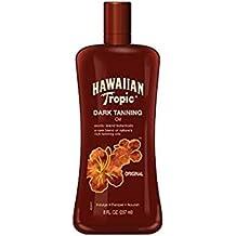 Hawaiian Tropic Dark TANNING Oil Original 237ml dirket de los Estados Unidos