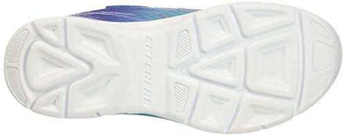 Skechers (SKEES) Litebeams, baskets sportives fille Bleu (Blhp)