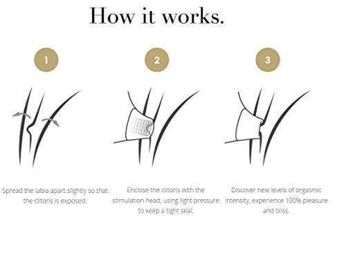 Womanizer Insideout Rabbit Vibratoren für sie Klitoris und G-punkt Stimulator Sauger, doppelte Intim Stimulation mit 12 Intensitätsstufen, Schwarz