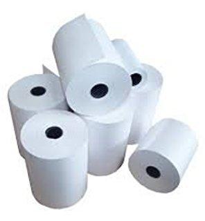 80x 80rollos papel térmico cajas registradoras