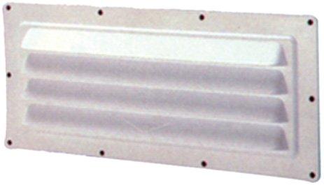 Ventline V2018A-011-3/10,2cm weiß Horizontal Kapuze Vent -