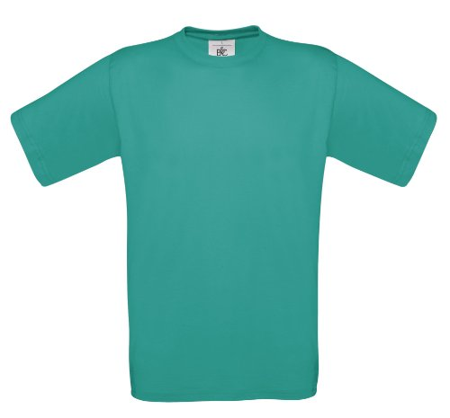 BCTU002 T-Shirt Exact 150 Herren Damen Real Turquoise