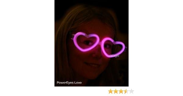 Lot de 10 paires de Lunettes Fluo Coeur Rose - idéal pour vos soirées   Amazon.fr  Beauté et Parfum 250f23c99456