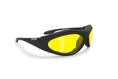 BERTONI Gafas Moto Antivaho Resistente Viento Impactos