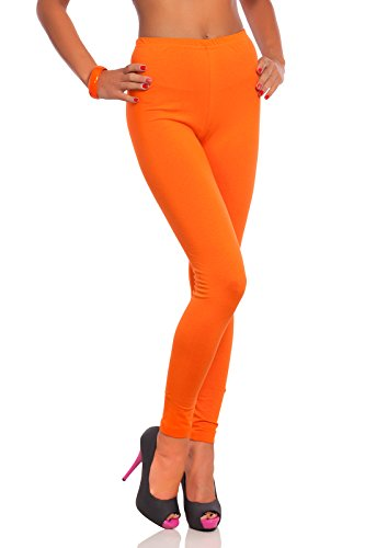 Hose Damen Orange