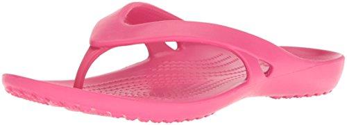 crocs Kadee II Flip Women, Damen Zehentrenner, Pink (Paradise Pink), 42/43 - Frauen Pink Crocs