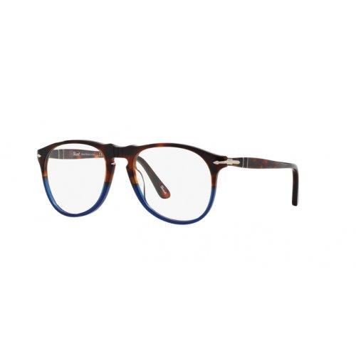 Persol Brillen Für Mann 9649 1022, Earth / Ocean Kunststoffgestell, 52mm