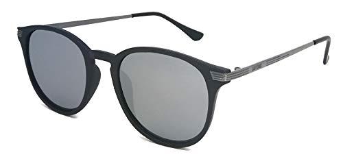 GIN TONIC Polarisierte Sonnenbrille/Leichte Sonnenbrille im Panto-Stil für Damen & Herren F2507009