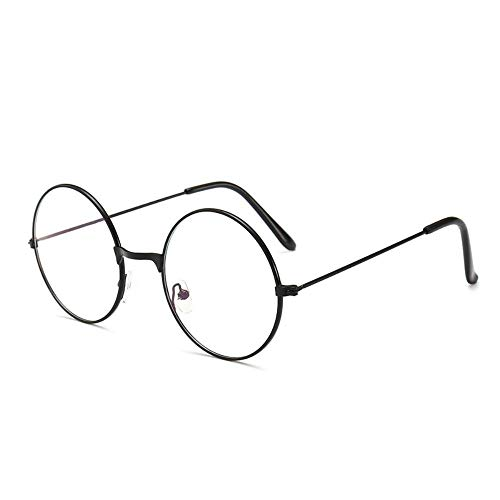 Franna Brille Frauen Männer Vintage Runde klare Gläser optische Brillen Rahmen transparente Linse Spektakel Frame Unisex-in Frauen Bilder von Bekleidung Zubehör