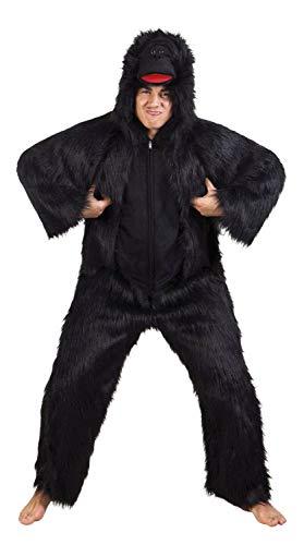 Boland 88111 Kostüm Gorilla Deluxe, Schwarz, 1.95