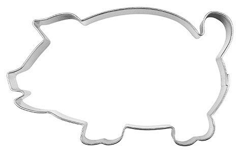 FORMINA Emporte-pièce en Forme de Cochon, Gross, 8 cm