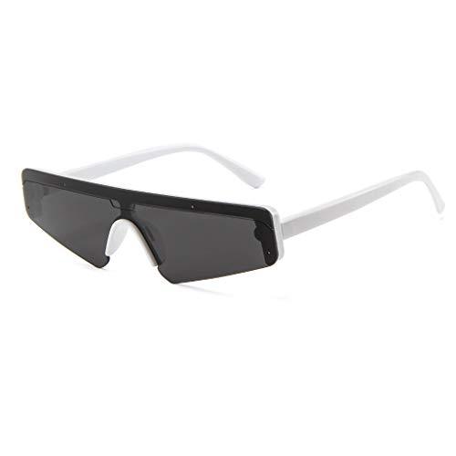 iCerber sonnenbrillen Süß Schöne Verspielt Unisex Square Small Frame Sonnenbrille Retro Sonnenbrille Fashion Sunglass UV 400 ❀❀2019 Neu❀❀(Weiß)