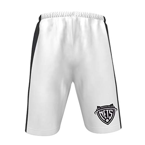 Brooklyn Nets NBA Basketball Short - 2019/2020 - Weiß - Herren (S)