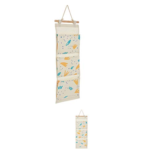 Miniso Floral Series 3-Compartment Hanging Organizer