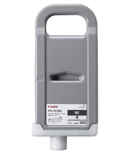 Preisvergleich Produktbild Canon 0900B001 PFI-701BK Tintenpatrone schwarz Standardkapazität 700ml 1er-Pack