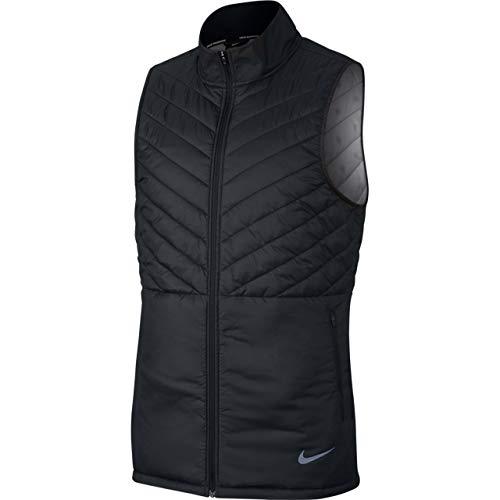 Nike M NK AROLYR Vest Herrenweste L Schwarz/Schwarz/Atmosphere-Grau