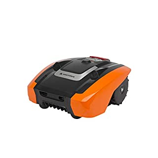 Yard Force AMIRO 400i Robotic Lawnmower with Active Safety Ultrasonic Sensor Technology, for Lawns up to 400m² with Wi-Fi and App Control