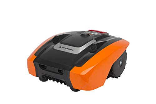 YardForce Amiro 400 - Robot cortacésped (20 V), color negro y naranja