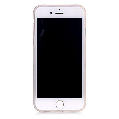 Voguecase® für Apple iPhone 7 hülle, Schutzhülle / Case / Cover / Hülle / TPU Gel Skin (coole Affe) + Gratis Universal Eingabestift USA