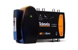 Televes 5363 - Central amplificador serie ca-minikom