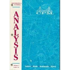 College Preparatory Mathematics 4: Units 1-6 par Sallee