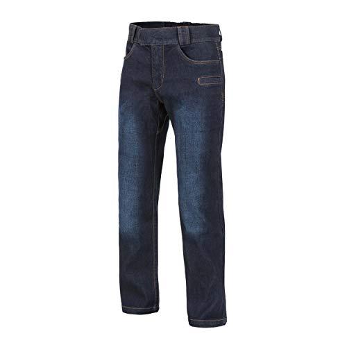 Helikon-Tex Greyman Tactical Jeans - Denim Mid - Dark Blue Blue Denim Bekleidung