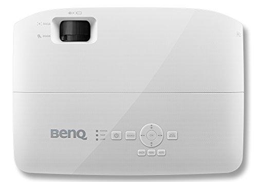 BenQ MS531 3D DLP-Projektor (SVGA Beamer, 3.300 ANSI Lumen, Kontrast 15.000:1, HDMI, USB) weiß