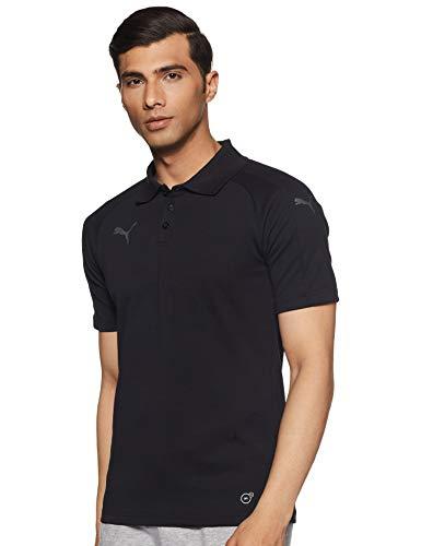Erwachsenen-polo-shirt (PUMA Erwachsene Ascension Casuals Polo Poloshirt, Black, L)