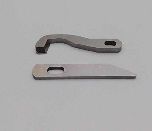 Honeysew Unter- und Ober-Messer für Brother 929D, 1034D und 1134D XB0563001X77683001