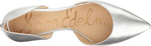 Sam Edelman Damen Telsa Pumps Soft Silver Soft Metallic Sheep Leather