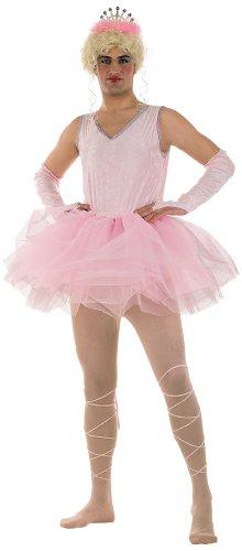 Imagen de limit sport  disfraz de bailarina para hombre, color rosa, talla xl ma487