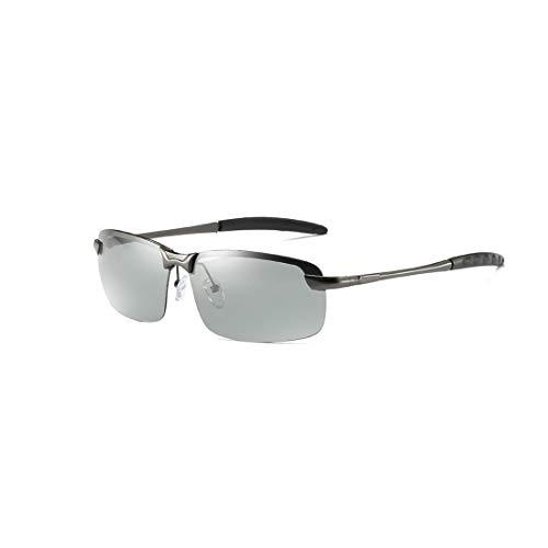 QISE Sport-Sonnenbrille Tag und Nacht Outdoor UV-Unisex-Brillen