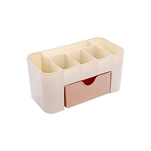 Yaoaofron Cosmétique Bijoux Tiroir De Stockage en Plastique Durable Maquillage Brosse Box Home Office Télécommande Titulaire De Rouge À Lèvres