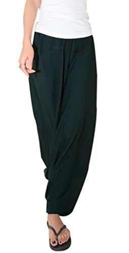 Harem Femme Taille Sarouel Aivtalk Népal Yoga Pantalons 0nTnW7F