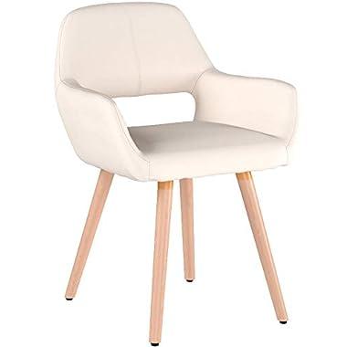 HENGMEI 4X Wohnzimmerstuhl Esszimmerstuhl Bürostuhl Küchenstuhl für Esszimmer und Küchen (Dunkelgrau)