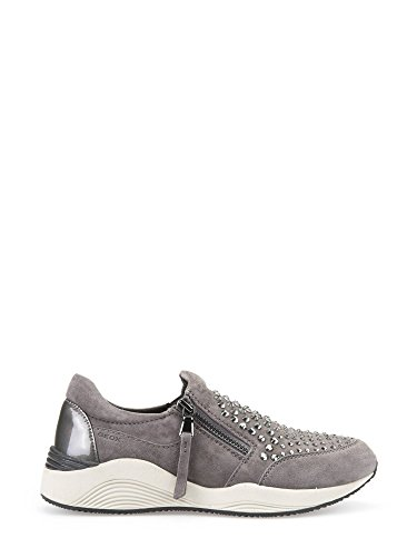 Geox Slip On Donna Ginnica D640SC 00021 C9002 Grey