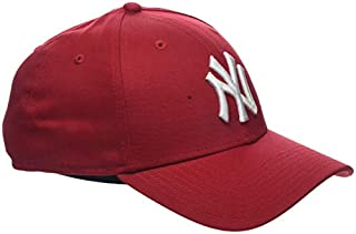 New Era MLB Basic NY Yankees 9FORTY Adjustable Scarlet Casquette Homme, Rouge, FR Fabricant : Taille Unique (B00803ZCB6) | Amazon Products