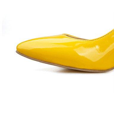 Zormey Frauen Schuhe Kunstleder Stiletto Heel Heels Heels Hochzeit / B¨¹ro & Amp Karriere/Kleid/Casual Schwarz US6 / EU36 / UK4 / CN36
