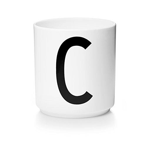 Design Letters - Becher - Buchstabentasse - Buchstabe: C - Porzellan - Arne Jacobsen