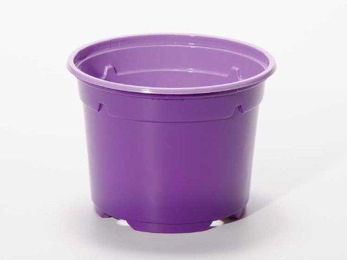 Pot horticole DUO 19 cm violet (x10)