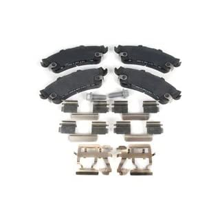 ACDelco 171-0878 GM Original Equipment Rear Disc Brake Pad Kit with Brake Pads, Clips, and Bolts