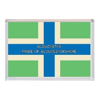 5/' x 3/' Gloucestershire Cross Flag Gloucester English England County Banner