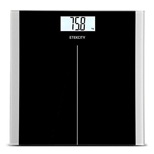 Bilancia pesapersone Etekcity EK93801, 180kg/400lb, nero