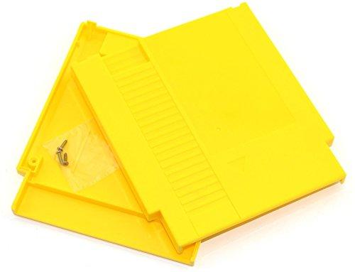 Ambertown Gelb Spiel Kartusche Shell Fall 72Pins 8Bit Karte für Nintendo NES mit 3Schrauben Ersatz