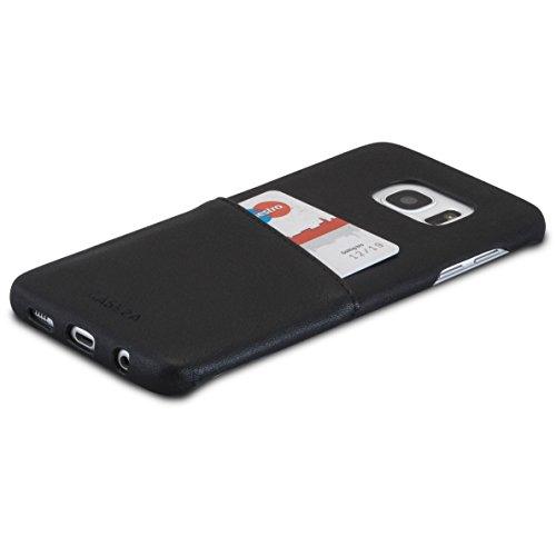 """Funda de piel PU """"Hamburg"""" para Galaxy S7 Edge de CASEZA El modelo """"Hamburg"""" de CASEZA es la funda ideal para su Galaxy S7 Edge. Su teléfono quedará protegido de manera óptima sin ver sacrificado el fino diseño del Galaxy S7 Edge. El bolsillo para ta..."""