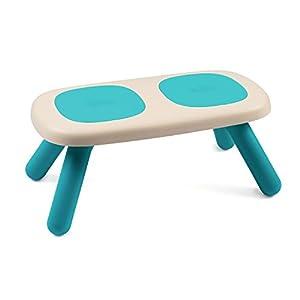 Smoby – Kid Bank Blau – Design Kinderbank für Kinder ab 18 Monaten, für Innen und Außen, Kunststoff, ideal für Garten…