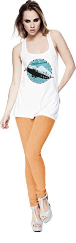 my-tagshirt - T-shirt - Donna bianco Large