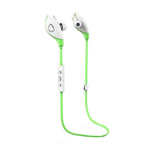 Coconano Bluetooth Kopfhörer in Ear Headset, Mit Wasserschutzklasse IPX5/7-Stunden-Spielzeit/Mikrofon, federleicht Für iOS, iPad, Samsung, Huawei, HTC und mehr,Grün