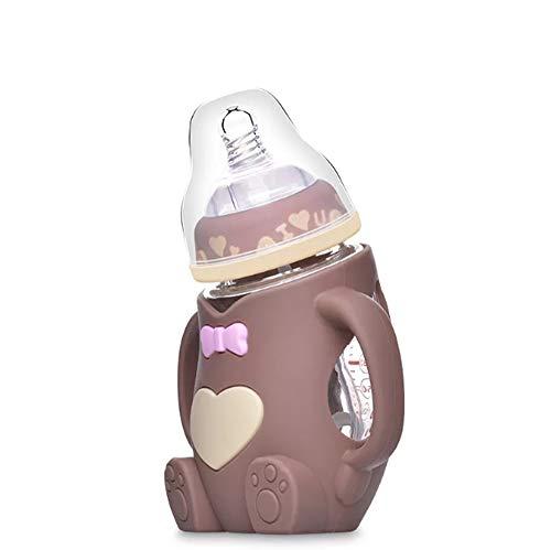 Babyfütterungsflaschen Muttermilchflasche-Kleinkind-Wasser-Cup, Anti-Leck , 240ml